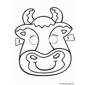 Mascaras Recortables Animales 020  Dibujos Y Juegos Para