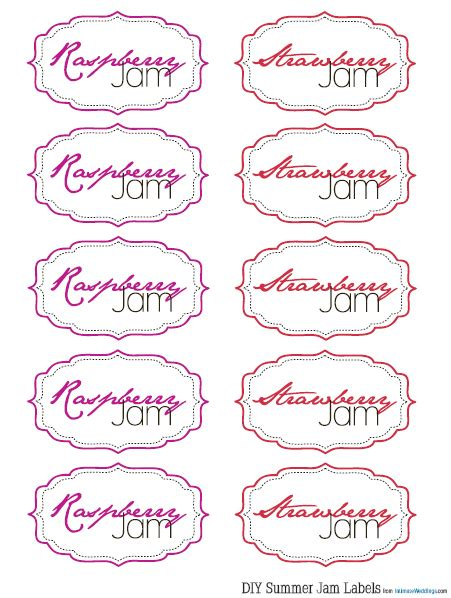 printable jam labels label printable images gallery category page 6