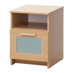 Small Bedside Table At Ikea Brimnes Bedside Table Oak Effect Frosted Glass 39x41 Cm Ikea