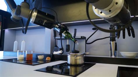 Robot Kitchen by Robotic Kitchen Moley Robotics Arch2o