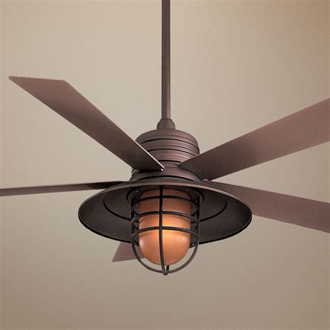 cage enclosed ceiling fans ceiling awesome ceiling fan with edison lights industrial