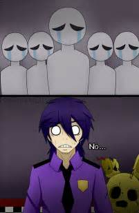 Oh no purple guy fnaf3 by xxakaneuchihaxx on deviantart