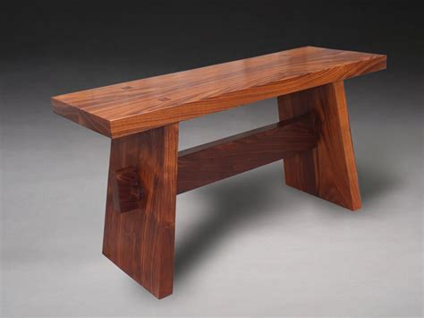 japanese wood bench japanese inspired contemplation bench by benhamdesign lumberjocks com