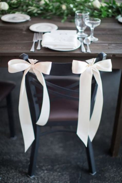 Chair Decorations by 53 Cool Wedding Chair Decor Ideas With Fabric And Ribbon