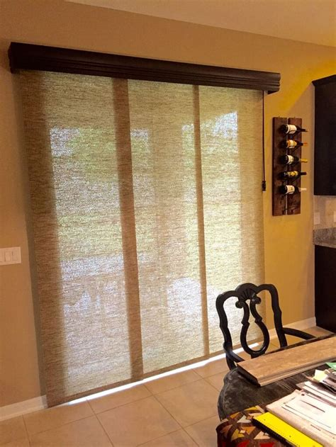 Patio Door Panel Blinds by 1000 Ideas About Sliding Door Blinds On Patio