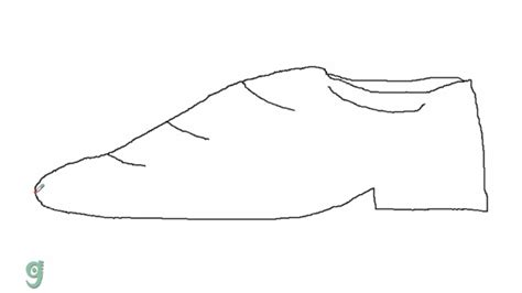 how to draw a shoe step by step for how to draw shoes step by step