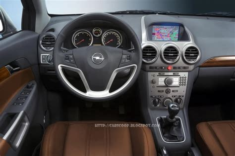 opel antara 2007 interior 2007 opel antara vauxhall antara official press release