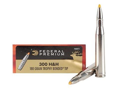 h h federal premium vital shok ammo 300 h h mag 180 upc