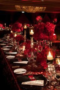Burgundy Table Ls by Burgundy Gold Wedding Table Setting Married To The
