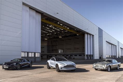 aston martin factory aston martin to build factory in wales for 2020 s dbx