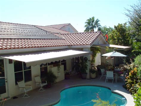 retractable patio awnings accent awnings shades of las