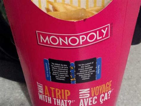 Mcdonalds Monopoly Instant Win Food Rules - mcdonald s monopoly return date 2013 business insider