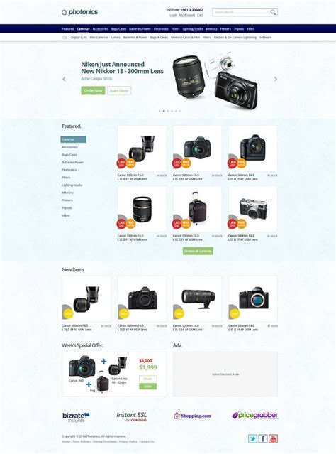 e shopping template 26 free ecommerce psd templates