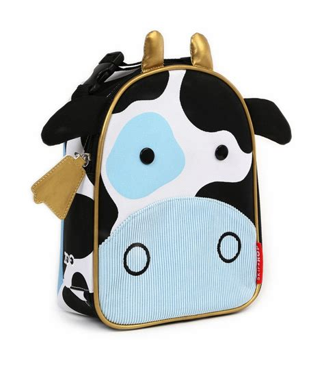 Skip Hop Zoo Lunch Ki skip hop zoo lunchies insulated lunch bag cow