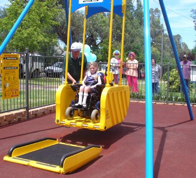 wheelchair swing plans information for people with disabilities tamworth