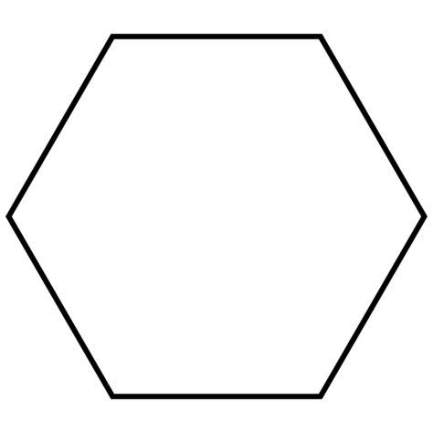 Hexagon Shape - file regular hexagon svg wikimedia commons