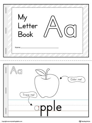 Letter Book Early Childhood Educational Resources Lessons Worksheets And Printables Myteachingstation
