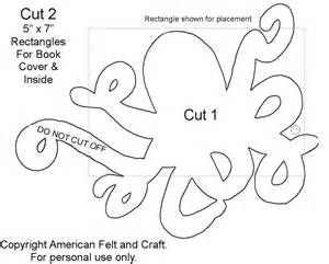 felt octopus needlebook american felt craft blog