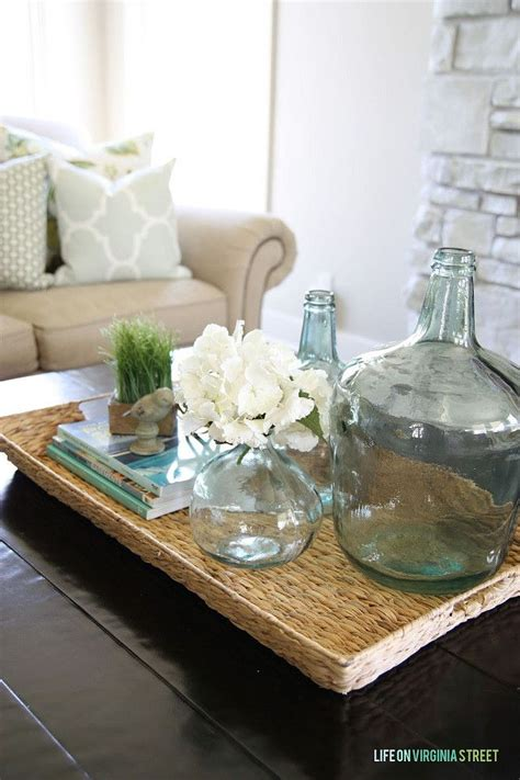 Coffee Table Decorations by Best 25 Coffee Table Tray Ideas On Coffee