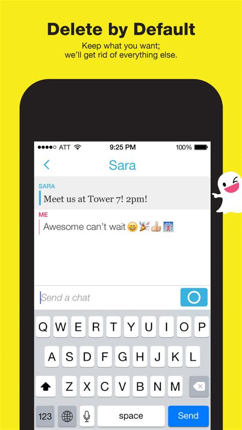 snapchat update  video  text messaging