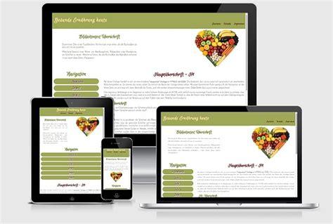 Webseiten Design Vorlagen Kostenlos Responsive Website Templates F 252 R Modernes Webdesign