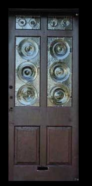 Bullseye Glass Door Bullseye Glass Doors Windows