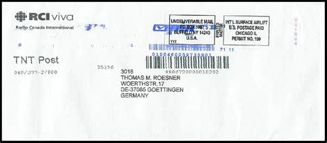 Brief Schweiz Nach Deutschland Frankieren Philaseiten De Moderne Postgeschichte Internationales Remailing
