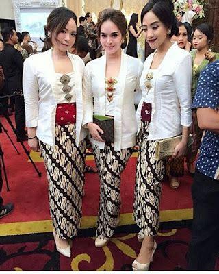 Rok Lilit Bordir Big Size 57 kumpulan gambar inspirasi kebaya modern indonesia