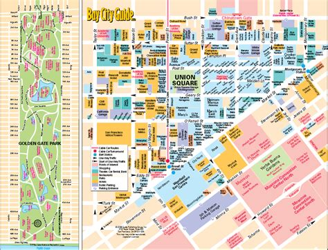 san francisco downtown map union square staysf san francisco discounted hotels free parking