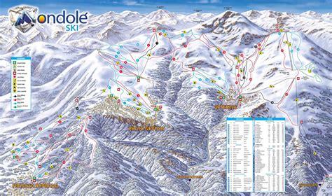 prato nevoso prato nevoso mondol 232 ski mappa delle piste da sci a
