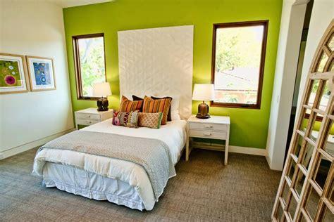 Green Bedroom Accent Wall 24 Accent Wall Designs Decor Ideas Design Trends