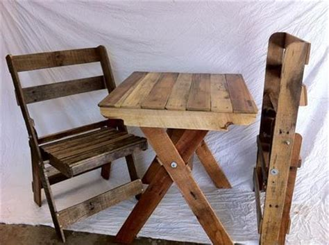 diy folding chair diy pallet folding chairs and table pallets designs