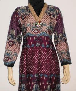 Rok Dan Blouse Panjang Prodo Etnik gamis gaun etnik gk2224 grosir baju muslim murah tanah abang