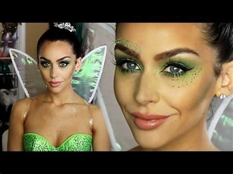 makeup tutorial tinkerbell tinkerbell fairy halloween makeup tutorial youtube