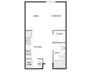 300 Square Foot Apartment Floor Plans by Studio Apartments 300 Square Feet Floor Plan Design Of