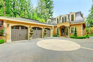 new homes with 3 car garage 61 car garage door ideas designs pictures