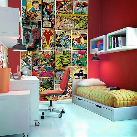 comic book themed living room habtaciones tema comics dormitorios colores y estilos