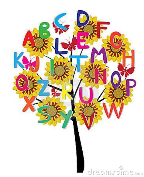 The Alphabet Trees alphabet tree royalty free stock image image 18292506