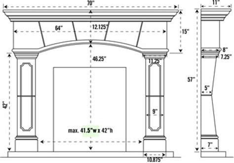 standard fireplace mantel height 1130 70 530 cast fireplace mantel mantle
