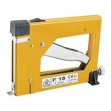 aggraffatrici per cornici fissatrice manuale f18 per cornici chiodini mm 18