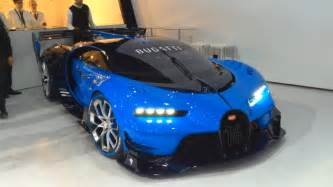 How To Start A Bugatti Bugatti Vision Gt Real Car Start Up Revving Moving Doovi