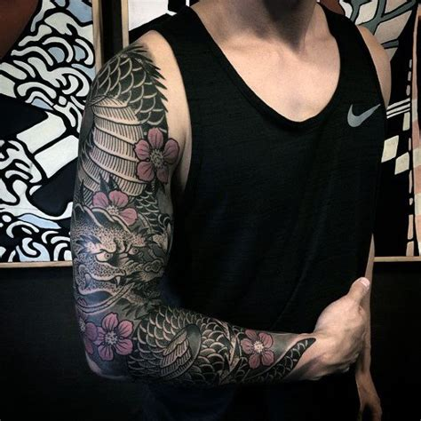 flower sleeve tattoos for men 17 best ideas about sleeve tattoos on tree