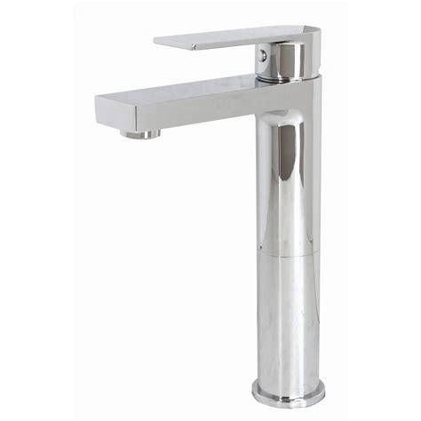 modern cavell single handle polished chrome bathroom sink adrian polished chrome bathroom vessel sink single hole faucet