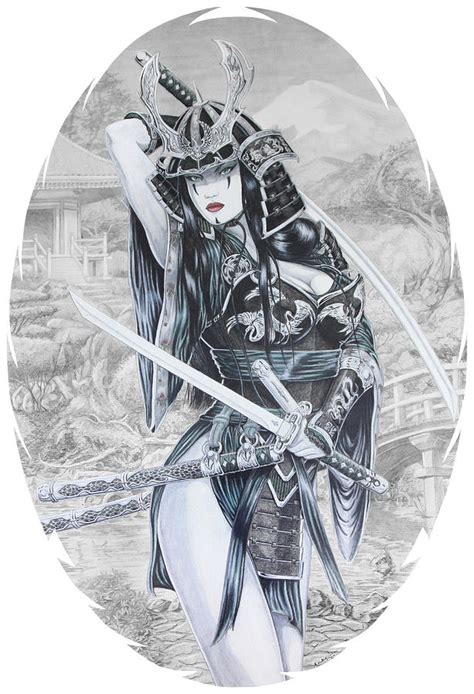 Asian Duvet Cover Hisuiko Drawing By Kristopher Vonkaufman