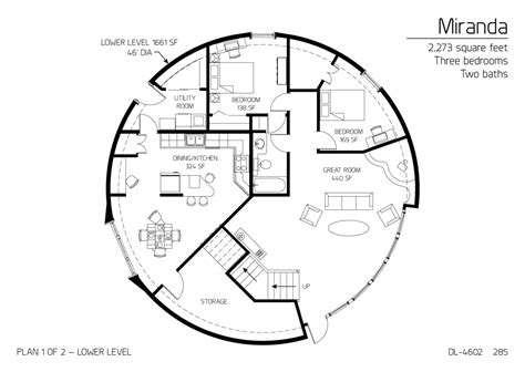 floor plan dl 4602 monolithic dome institute