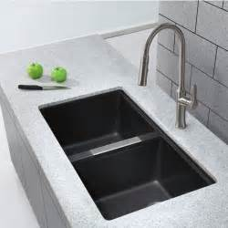 Best Kitchen Sinks Undermount Best 25 Black Kitchen Sinks Ideas On Black Sink Sinks And Black Kitchen Faucets