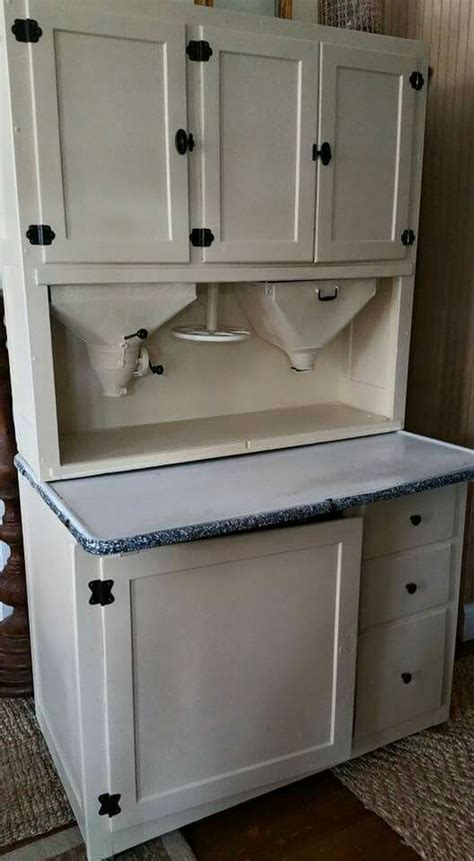 vintage hoosier type kitchen cabinet with enamel top 1000 images about hoosier cabinets pie safes on pinterest