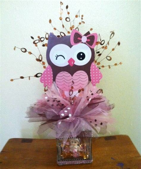 Owl Baby Shower Decorations Canada by Owl Baby Shower Centerpieces Best 25 Owl Centerpieces