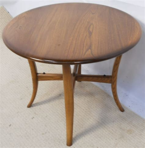 ercol golden elm coffee table