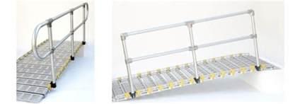 portable handrail system aluminum handrails portable rs roll a r